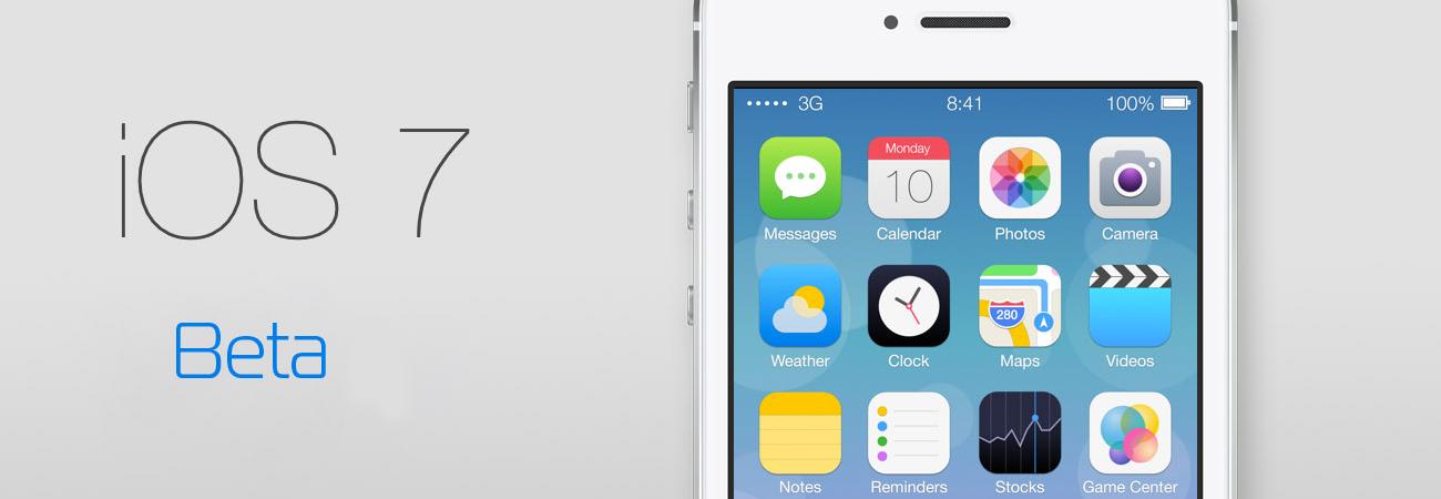 Apple Releases iOS 7 Beta