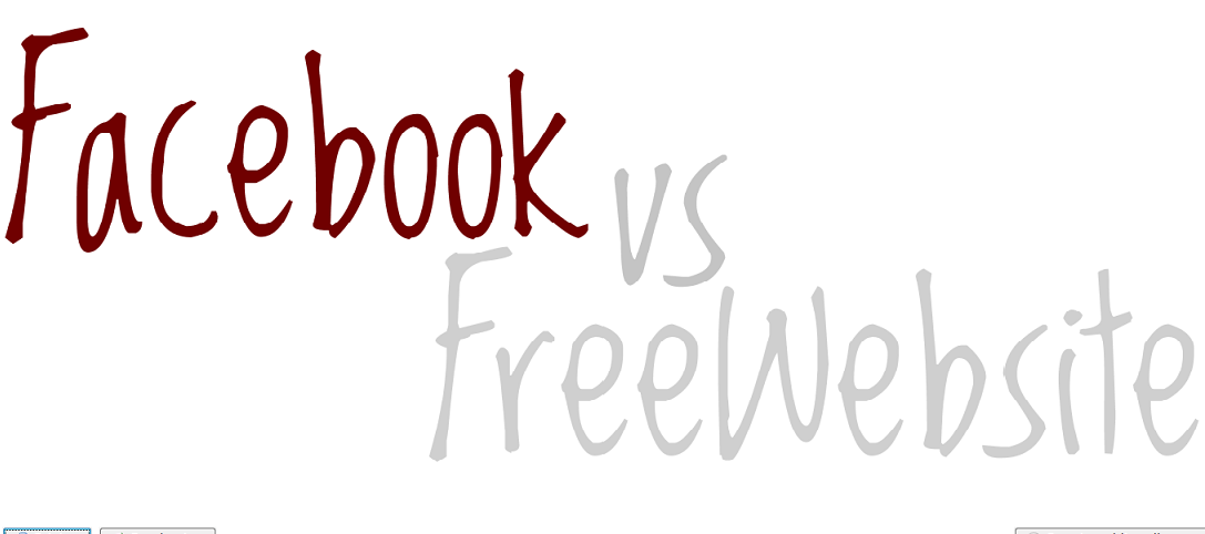 Free Website Vs. Facebook – Which First?