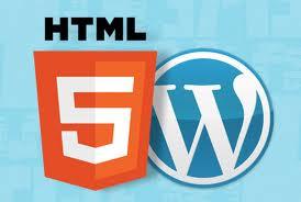 Make Combination of WordPress and HTML5