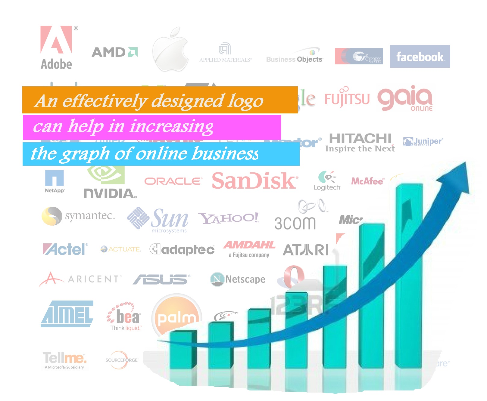How Logo Design Can Increase the Graph of Your Online Business