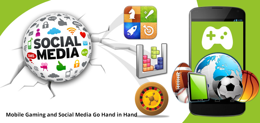 Mobile Gaming and Social Media Go Hand in Hand