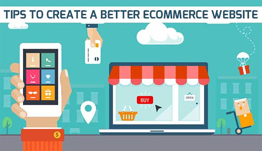 COMPONENTS OF THE E-COMMERCE WEBSITES