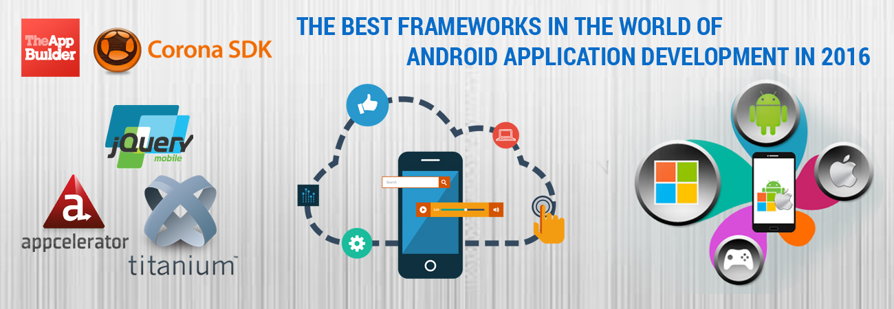 The best frameworks in the world of Android Application Development in 2016