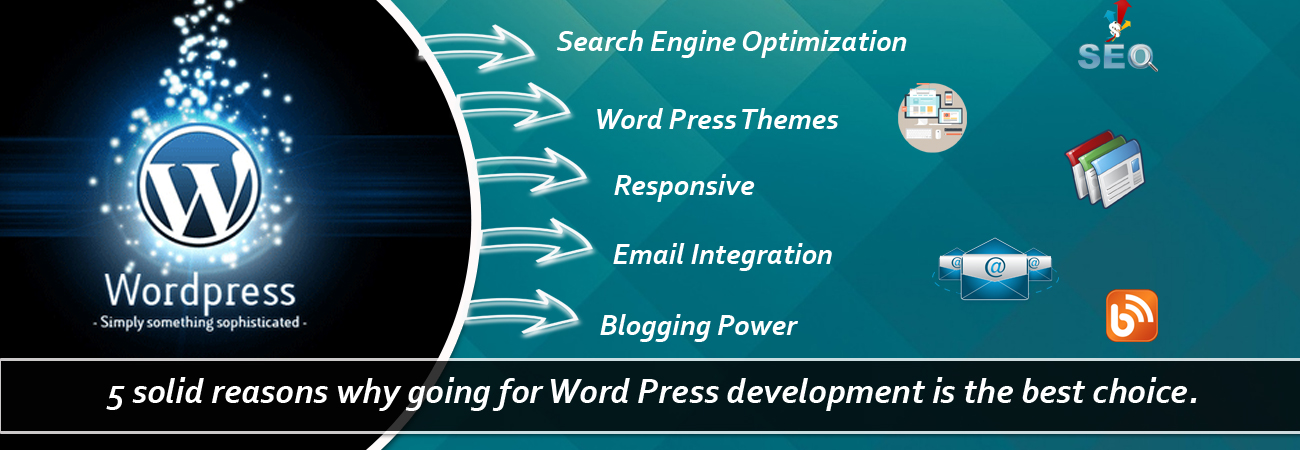 5 solid reasons why going for Word Press development is the best choice