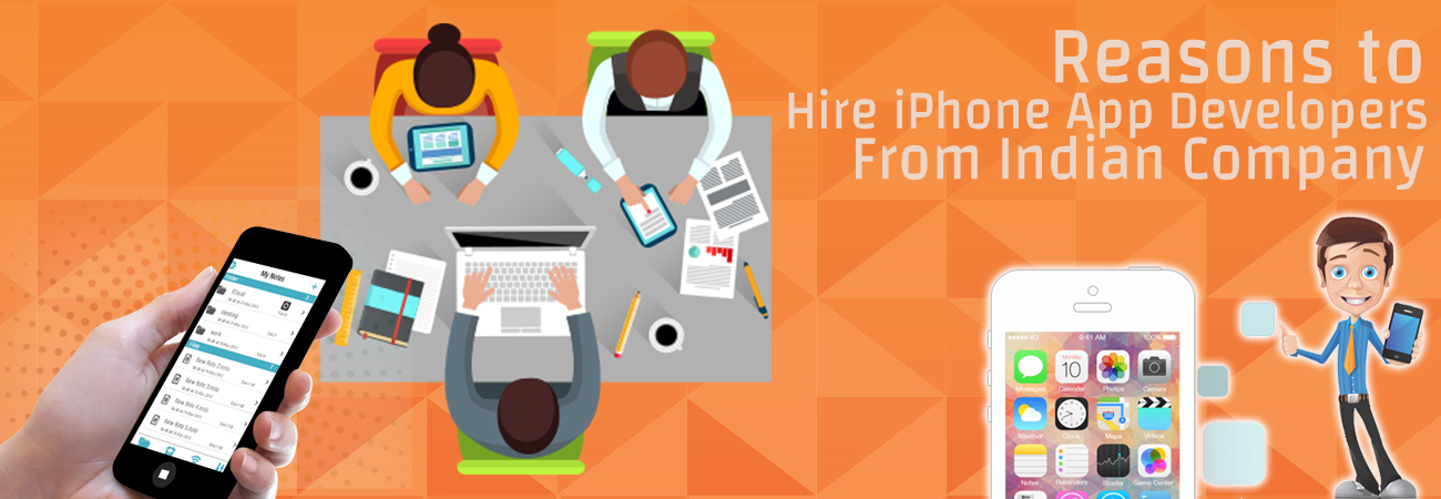 10 Reasons Why You Should Hire iPhone App Developers from India