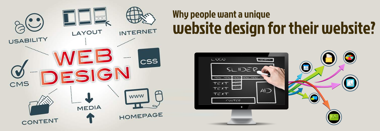 Why people want a unique website design for their website?