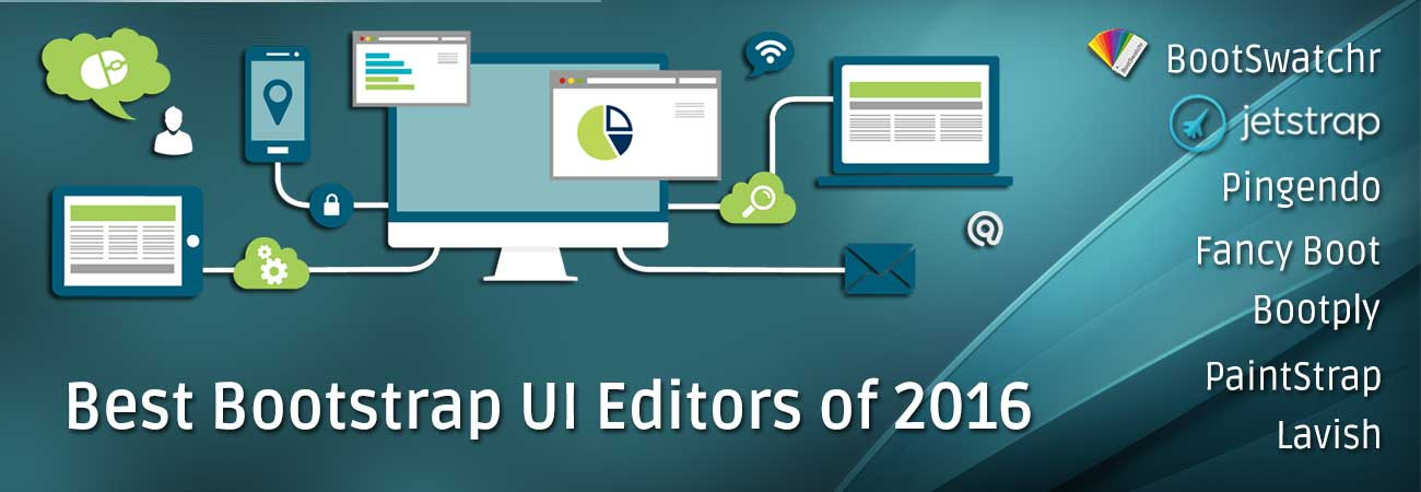Best Bootstrap UI Editors of 2016